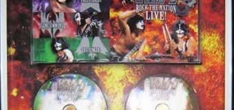 KISS:  2005 Rock The Nation Live! DVD Certified Double Platinum 2020