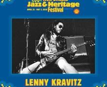 Lenny Kravitz: The New Orleans Jazz & Heritage Festival 2020 – JazzFest