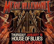 Dave Lombardo NAMM 2020 w/ Metal Allegiance @ House of Blues Anaheim, CA