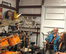 "Kirk Hammett, ""Rehearsal for the Peter Green Tribute"" 2020 – Fleetwood Mac"