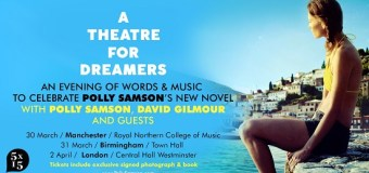 David Gilmour to Perform New Song @  A Theatre For Dreamers w/ Polly Samson Event 2020