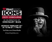 Ozzy Osbourne iHeartRadio ICONS Event Hosted by Disturbed's David Draiman – WATCH TONIGHT