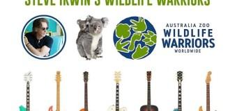 Rick Springfield Guitar Auction for Steve Irwin's Australia Zoo Wildlife Warriors – Wildfire Relief 2020