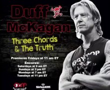 Duff McKagan: 'Three Chords & The Truth' Show Announced – Ozzy's Boneyard – SiriusXM – 2020