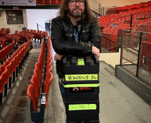 "Gary Holt, ""LOVING These Double Guitar Cases By ENKI USA"""