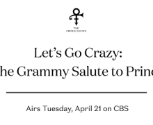 "Prince: ""Let's Go Crazy: The GRAMMY Salute to Prince"" 2020 on CBS"