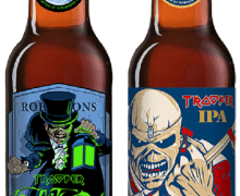 Iron Maiden Introduces Trooper 'Fear of the Dark' & IPA – Beer – English Stout – UK PRE-ORDER – 2020