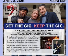 Billy Sheehan, Gregg Bissonette Interactive Webinar Clinic w/ Victor Wooten, Steve Bailey, John Pattitucci