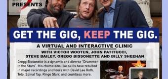 Billy Sheehan, Gregg Bissonette Interactive Webinar Clinic w/ Victor Wooten, Steve Bailey, John Pattitucci