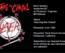 Slayer 'Haunting the Chapel' Inside the EP with Producer / Engineer Bill Metoyer – full in bloom Interview