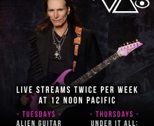 "Steve Vai: Facebook Live ""Alien Guitar Secrets Live"" & ""Under It All: Hard Questions"" 2020"