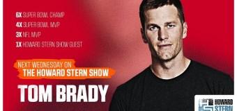 Tom Brady On The Howard Stern Show 2020