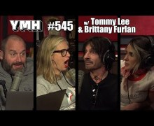Tommy Lee & Brittany Furlan on Your Mom's House Podcast 2020