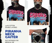 Exodus Piranha Neck Gaiter