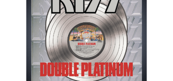 KISS 'Double Platinum' Is Back – Limited Picture Disc – Personalized RIAA Award