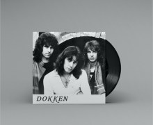 "Dokken ""Hard Rock Woman"" ""Broken Heart"" 7-Inch Single Signed by Don Dokken"