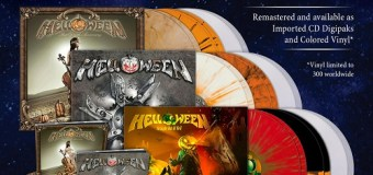 """Helloween """"Straight Out Of Hell,"""" """"7 Sinners,"""" """"Unarmed"""" Get Re-Release CD/Vinyl/LP 2020 – Remastered"""