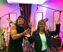 Bobby Rock: Tracking Drums for a New Lita Ford Record – 2020 – Album News
