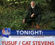 Cat Stevens / Yusuf on The Late Show with Stephen Colbert 2020