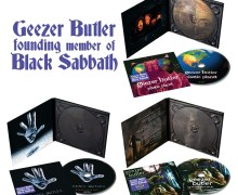 Geezer Butler: Plastic Planet, Black Science, & Ohmwork – Solo Albums Get Reissue – CD – LP/Vinyl