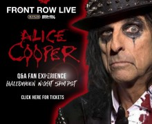 Alice Cooper: Halloween Night 2020 – Online Interactive Q&A – Tickets