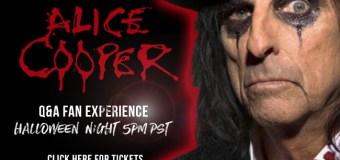 Alice Cooper: Halloween Night 2020 – Online Interactive Q&A – Tickets