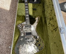 KISS:  Paul Stanley's Original Cracked Mirror Ibanez PS 10 Guitar
