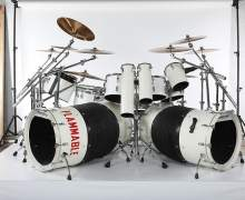 Alex Van Halen Stage-Played Drum Kit/Set From 1980 'Invasion' Tour FOR SALE!!