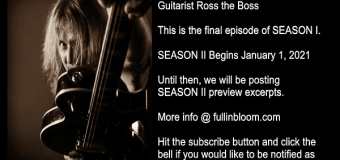 Ross the Boss Interview-Talks Manowar, Death Dealer, The Dictators, Mercyful Fate, Joey DeMaio, Anthrax,2020