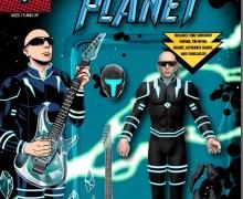 Joe Satriani Action Figure – Crystal Planet FigBiz – 2021