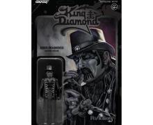 King Diamond Action Figure by Super7 + King Diamond/Mercyful Fate 1984 Tour Era Figure