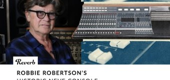 Robbie Robertson Selling 16-Channel Neve 8014 Console