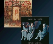 Black Sabbath 'Heaven and Hell' & 'Mob Rules' REMASTERED DELUXE EDITIONS 2-CD / 2-LP