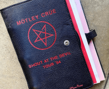 Mötley Crüe 'Shout at the Devil' Tour Book Belonging to Nikki Sixx's Grandmother & Grandfather