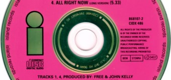 """""""All Right Now"""" by Free Re-Enters UK Charts Over Two Decades After Its Release – The full in bloom Chronicles"""