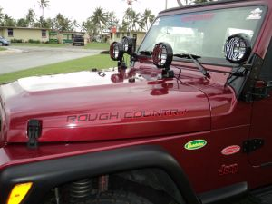 Jeep Rough Country Decals