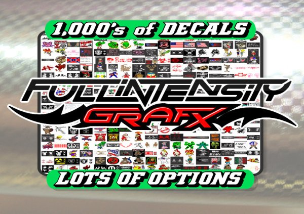 The largest online decal catalog