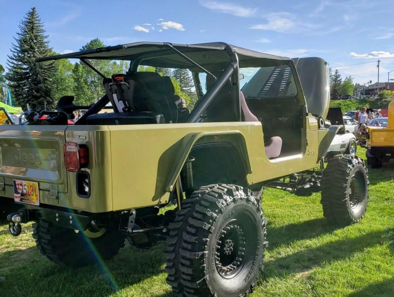 Drab Green Jeep