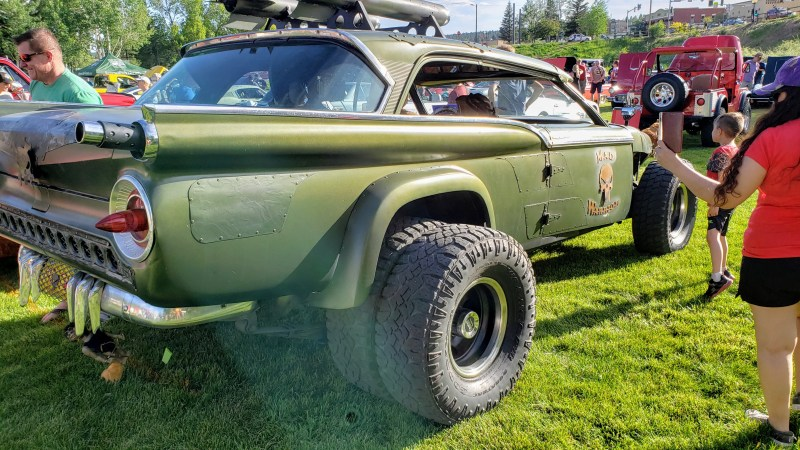 Rear View Mad Max Vehicle
