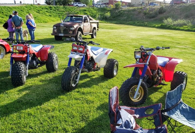 three-wheeler ATVs