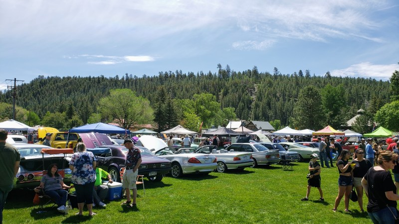 Pagosa Car Show 2019 and Reservoir Hill recreation area