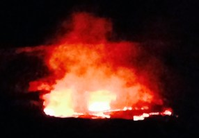 Our Kilauea Volcano has begun putting on a magnificent display.