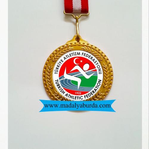 atletizm koşu madalyası