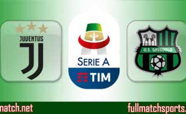 Juventus Vs Sassuolo Highlights Full Match