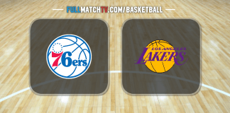 Philadelphia 76ers vs Los Angeles Lakers