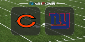 Chicago Bears vs New York Giants