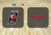 Portland Trail Blazers vs Houston Rockets