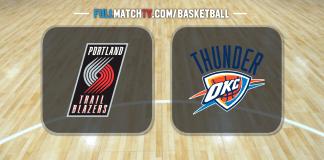Portland Trail Blazers vs Oklahoma City Thunder