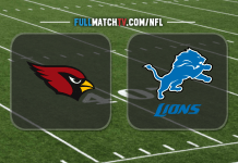 Arizona Cardinals vs Detroit Lions