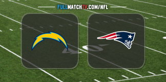 Los Angeles Chargers vs New England Patriots